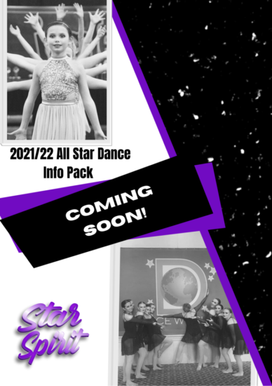 All Star Dance Info Pack Cover