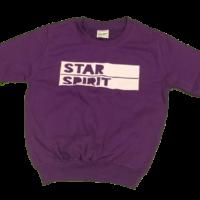 Purple Wide Logo Sweatshirt