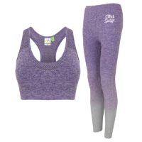 Adult Crop Top and Leggings Combo