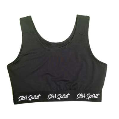 Youth Crop Top Front