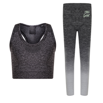 Seamless Crop Double Youth